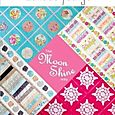 Book contains 5 quilt patterns