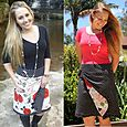 Reversible Wrap Skirt sizes 6-20
