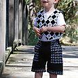 Jasper Vest and Shorts