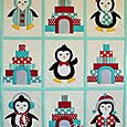 Penguin Party Cot Quilt