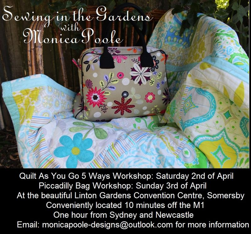 Sewing in the Gardens
